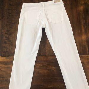 AG Prima ankle/cigarette ankle/Size 28 white jean